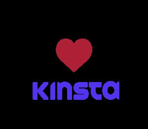 I love Kinsta